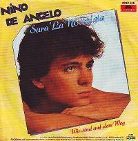 Cover Nino de Angelo - Sara' la nostalgia