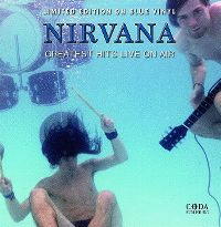 Cover Nirvana - Greatest Hits Live On Air