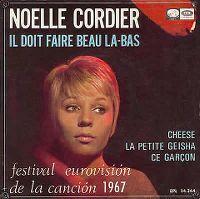 Cover Noëlle Cordier - Il doit faire beau là-bas
