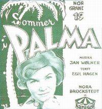 Cover Nora Brockstedt - Sommer i Palma