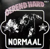 Cover Normaal - Oerend hard