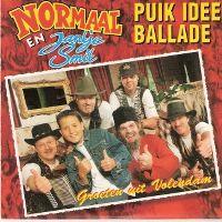 Cover Normaal en Jantje Smit - Puik idee ballade