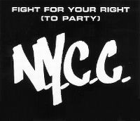 Cover N.Y.C.C. - Fight For Your Right (To Party)
