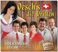 Cover Oesch's die Dritten - Volksmusik ist INternational