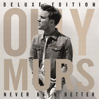 Cover Olly Murs - Never Been Better