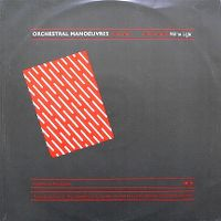 Cover OMD (Orchestral Manoeuvres In The Dark) - Red Frame / White Light
