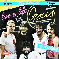 Cover Opus - Live Is Life