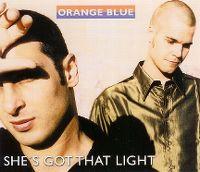 Cover Orange Blue - She's Got That Light