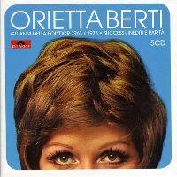 Cover Orietta Berti - Gli anni della Polydor 1963-1978