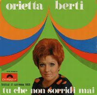Cover Orietta Berti - Tu che non sorridi mai