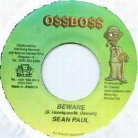 Cover Oss Boss & Sean Paul - Beware