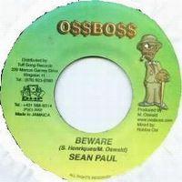 Cover Oss Boss & Sean Paul - Beware