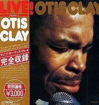 Cover Otis Clay - Live!