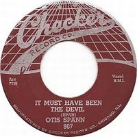 Cover Otis Spann - It Must Have Been The Devil
