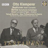 Cover Otto Klemperer / Yehudi Menuhin / New Philharmonia Orchestra - Testament