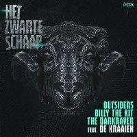 Cover Outsiders, Billy The Kit & The Darkraver feat. De Kraaien - Het zwarte schaap