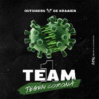 Cover Outsiders & De Kraaien - 1 team (tegen corona)