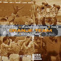 Cover Outsiders x Django Wagner x Poke - Oranje team (Holland hup)