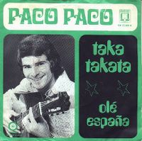 Cover Paco Paco - Taka takata