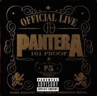 Cover Pantera - Official Live : 101 Proof