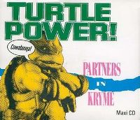 Cover Partners In Kryme - Turtle Power!