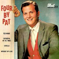 Cover Pat Boone - Four By Pat