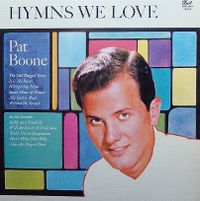 Cover Pat Boone - Hymns We Love