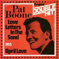 Cover Pat Boone - Love Letters In The Sand