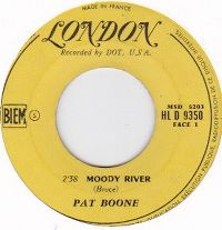 Cover Pat Boone - Moody River