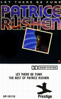 Cover Patrice Rushen - Let There Be Funk - The Best Of Patrice Rushen