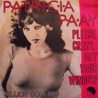 Cover Patricia Paay - Please Crawl Out Your Window