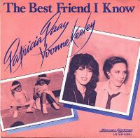 Cover Patricia Paay & Yvonne Keeley - The Best Friend I Know