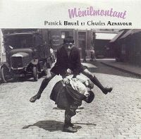 Cover Patrick Bruel et Charles Aznavour - Ménilmontant