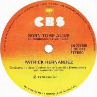 Cover Patrick Hernandez - Born To Be Alive