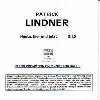 Cover Patrick Lindner - Heute, hier und jetzt