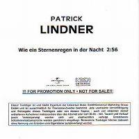 Cover Patrick Lindner - Wie ein Sternenregen in der Nacht