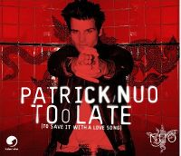 Cover Patrick Nuo - Too Late (To Save It With A Love Song)