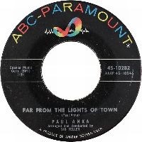Cover Paul Anka - Far From The Lights Of Town