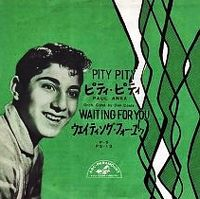 Cover Paul Anka - Pity Pity