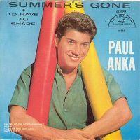 Cover Paul Anka - Summer's Gone