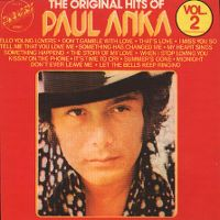 Cover Paul Anka - The Original Hits Of Paul Anka Vol. 2