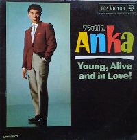 Cover Paul Anka - Young, Alive And In Love!