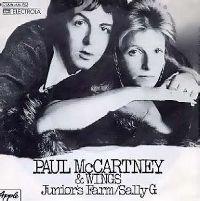 Cover Paul McCartney & Wings - Junior's Farm