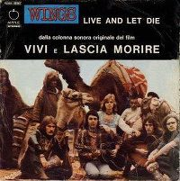 Cover Paul McCartney & Wings - Live And Let Die