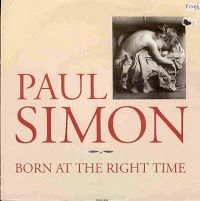 Cover Paul Simon - Born At The Right Time