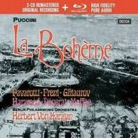 Cover Pavarotti / Berliner Philharmoniker / Herbert von Karajan - Puccini: La Bohème