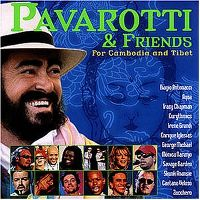 Cover Pavarotti & Friends - For Cambodia And Tibet