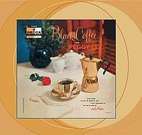 Cover Peggy Lee - Black Coffee