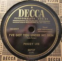 Cover Peggy Lee - I've Got You Under My Skin