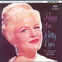 Cover Peggy Lee - Pretty Eyes